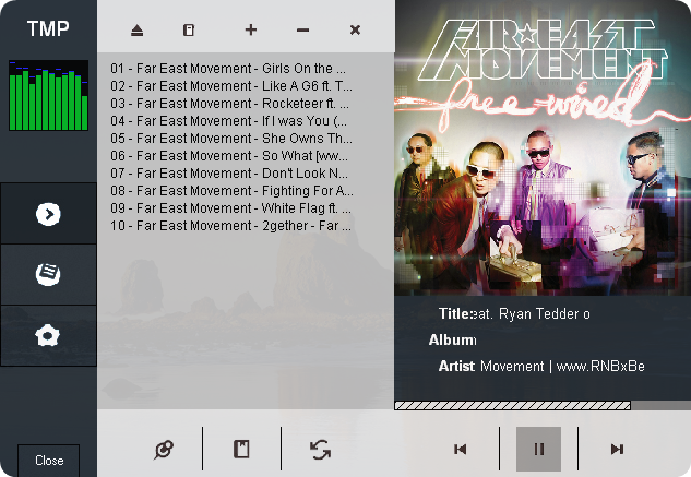 Trizz Media Player v3